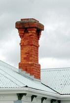 Figure 4: Another typical brick chimney design.