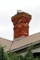 Figure 5: Another typical brick chimney design.