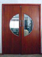 Figure 2: Glazed door between living and dining area of an art deco house.