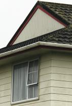 Figure 1: Asbestos-cement plank cladding.
