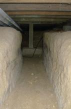 Figure 1: A trench provides underfloor access.