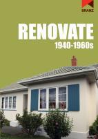 Renovate 1940 – 1960s