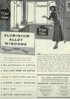 Figure 2: Aluminium window advertisement from the 1950s.